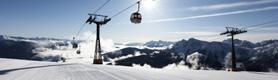 Olang am Kronplatz in Südtirol im Winter
