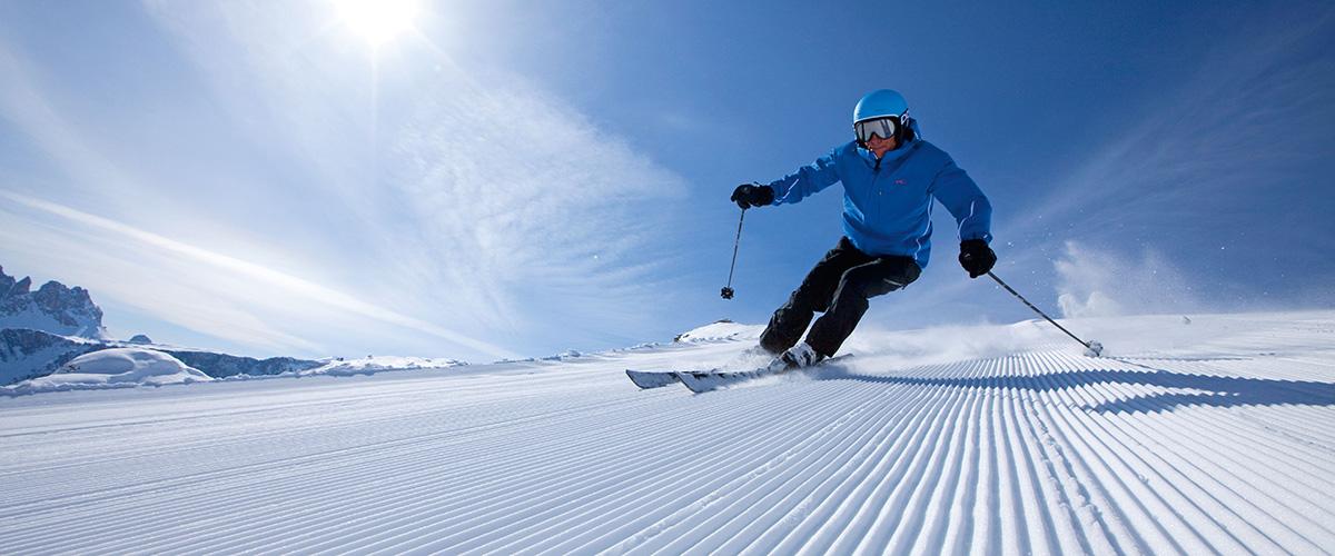 Skipiste am Kronplatz bei Olang Südtirol im Winter – Aktivitäten in Olang in Südtirol im Sommer und im Winter