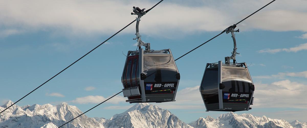 Skilift am Kronplatz bei Olang Südtirol im Winter – Aktivitäten in Olang in Südtirol im Sommer und im Winter