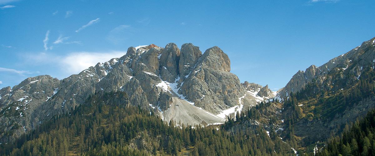 Die 3 Finger bei Olang Südtirol