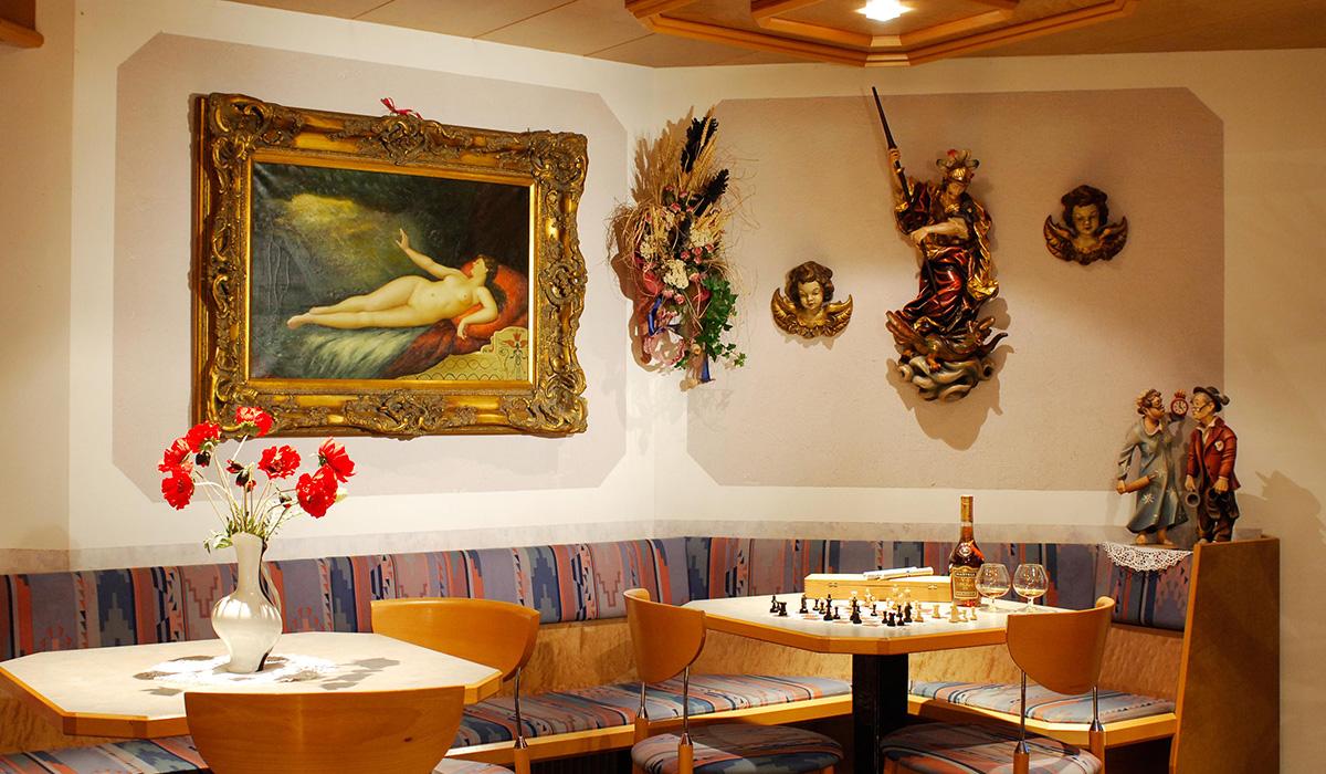Im Restaurant des Hotel Aichner **** in Olang am Kronplatz in Südtirol