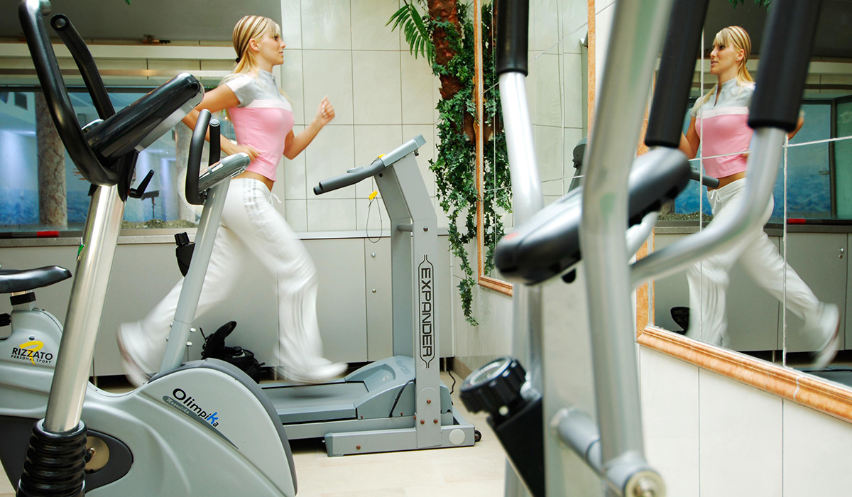 Fitness im Hotel Aichner **** in Olang am Kronplatz in Südtirol
