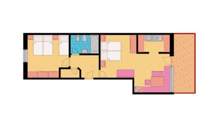 Appartement Tirol in der Residenz Aichner in Olang am Kronplatz in Südtirol