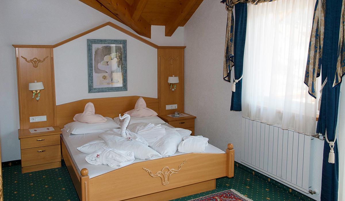 Luxuszimmer im Hotel Aichner **** in Olang am Kronplatz in Südtirol