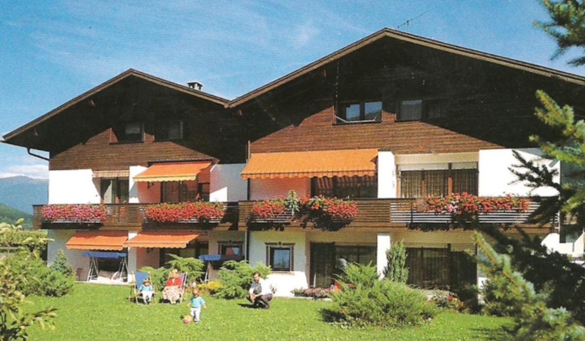 Die Residenz Aichner in Olang am Kronplatz in Südtirol wurde 1976 erbaut