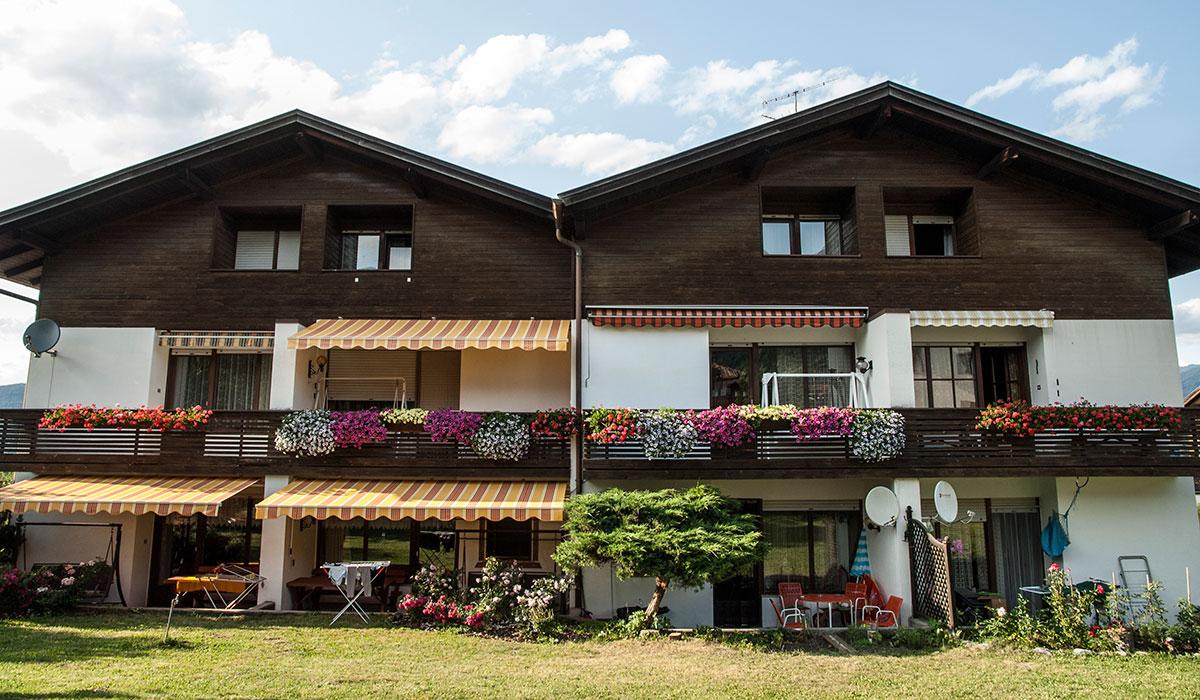 Die Residenz Aichner in Olang am Kronplatz in Südtirol